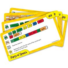 Reading Rods® Simple Sentences Activity Cards, Set of 48