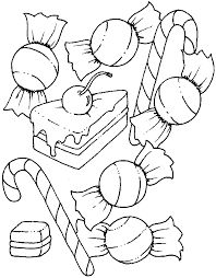 A Party For Candy Coloring Pages