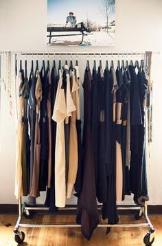 this is a really really attractive way to organize excessive clothing