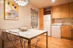 Cocina de apartamento.