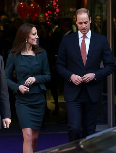 Pin for Later: The Evolution of Will and Kate's Royal Love  Kate only had eyes for Will when they stepped out at a charity event in London in December 2015.