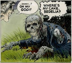 Creepshow (movie adaptation) Art by Bernie Wrightson