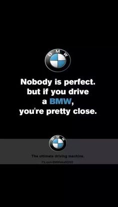 Pretty much sums it up. Bmw Quotes, 1200 Gs Adventure, E36 Coupe, Bmw Girl, Bmw Performance, Bmw Wallpapers, Bavarian Motor Works, Bmw Classic Cars, Bmw 7 Series