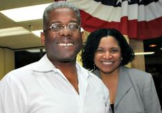 True Patriots! Allen West and his beautiful wife Dr. Angela West