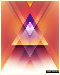 Pastel Triangles by James White