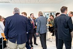 Business After Hours Networking Photography: © 2014 McLaren Photographic LLC #McLarenPhotographic #mclarenphotos #TMAnet #Mazak #automation #robotics #Chicago