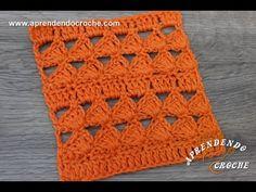 Ponto de Crochê Fantasia 5 - Aprendendo Crochê - YouTube