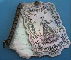 1830 Dance Card