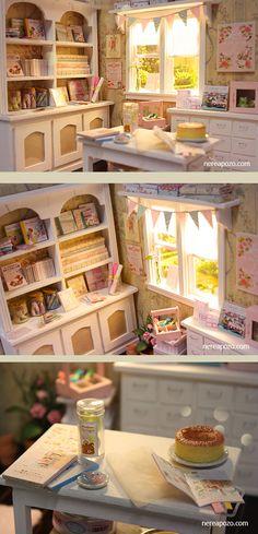 Nerea Pozo Art: 1/6 Scale Diorama 'Craft Love Atelier'