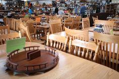 Millers Southern Ohio Amish Furniture Store and Bakery in Adams County near Cincinnati Bulk Food, Amish Furniture, Ohio, Dining Table, Table Decorations, Home Decor, Columbus Ohio, Decoration Home, Room Decor