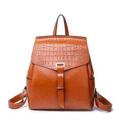 bfc752c109 New Fashion Women Backpack High Quality Soft Leather Backpacks for Teenage  Girls Female School Shoulder Bag Bagpack mochila Price history.