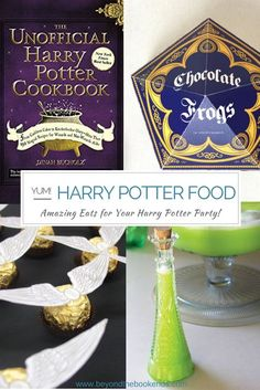 Looking for the perfect menu for your Harry Potter Party? We have some favorite Harry Potter inspired Food for even the pickiest eaters.