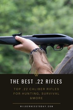 Check out our favorite caliber rifles for hunting, survival & more.
