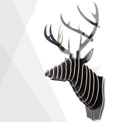 Aliexpress.com: Comprar Moderno cabeza de animal 3D decoración de la pared europea de alto grado decoraciones para el hogar de blanco boscosas arte materiales de arte sala de estar de botones decorativos para la artesanía fiable proveedores en Leo Decorative Painting