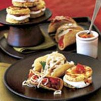 Mini Taco Shells  From Country Living  Fill these shells with Goat Cheese and Chicken or Smoked Gouda and Pork Taco Filling.