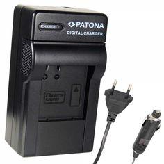 Cargador compatible para ACTIONCAMERA SJ4000 Rapido y inteligente con procesador para verificar el nivel de carga de la batería El LED de carga está en verde antes de que se introduzca la batería