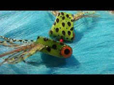 Bass fly tying, Simple Foam Frog