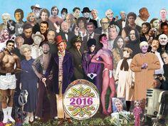 Los que nos dejaron en el 2016 (a lo Sgt. Pepper's de The Beatles)   Radiónica