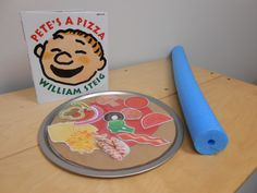 Pete's a Pizza-great printables and ideas