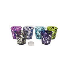 Vaso de Cristal Retro como detalles de boda para invitadas