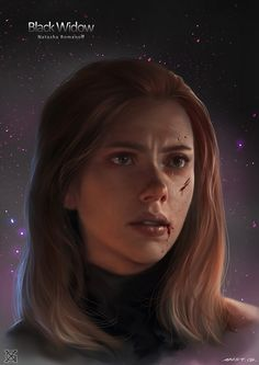 black widow, mist XG on ArtStation at https://www.artstation.com/artwork/Ka43YW