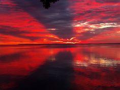 Sunrise over Lake Winnebago. Ahhh. (Photo: Amanda Baldwin)