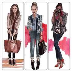 More amazing illustrations by the talented @Inslee Haynes from a recent SS13 preview!