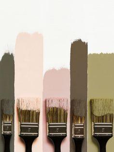 New Living Room Green Pink Colour Palettes Ideas Art Deco Colors, Wall Colors, Colours, House Colors, Bedroom Colour Schemes Warm, Bedroom Paint Colors, Living Room Green, Living Room Paint, Living Rooms