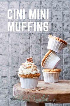 Cini Mini Muffins I Rezept Mini Muffins, Cini Minis, Cinnamon Muffins, Sweets, Dessert, Breakfast, Anstatt, Food, Cupcakes