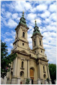 Two tower church,Pancevo,Serbia