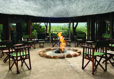 Luxury Safari destination in South Africa. Outdoor Buildings, Outdoor Structures, Safari Bathroom, Game Lodge, River Lodge, Private Games, Outdoor Tables, Outdoor Decor, Wooden Decks