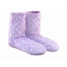 Sonoma Lavender - Lavender Spa Booties DOT Fabric