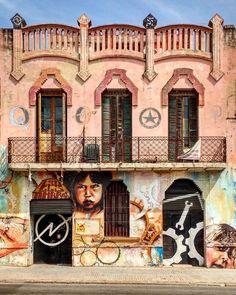 Els Timbres #okupa #grafitti #arturba #urbanart #viladecans