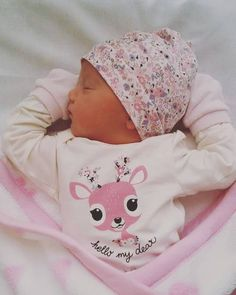 Beautiful baby girl Ines Ana. So in love with her.