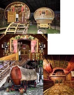 Set Research:  Gypsy Wagons