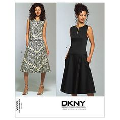 Misses'/Misses' Petite Dress-A (6-8-10) Patternnull