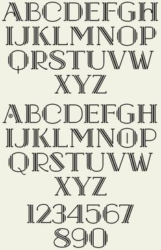 Letterhead Fonts / LHF Hudson / Art Deco Fonts