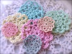 ▶ Cheap and Chic: Easy Mini Crochet Doily Tutorial - YouTube