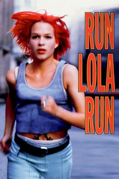 Lola rennt movie poster - #poster, #bestposter, #fullhd, #fullmovie, #hdvix, #movie720pLola receives a phone call from her boyfriend Manni. He lost 100,000 DM in a subway train that belongs to a very bad guy. She has 20 minutes to raise this amount and meet Manni. Otherwise, he will rob a store to get the money. Three different alternatives may happen depending on some minor event along Lola's run.