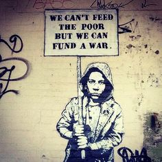 War Over Hunger If only countries could put as much effort into feeding the hungry as they do war. Too focused on fighting to notice the starving mouths they ignore. The rumbling stomachs of children...