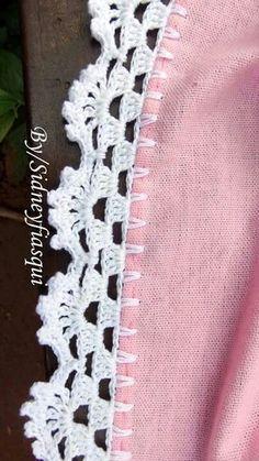 New crochet lace afghan pattern free knitting ideas Crochet Boarders, Crochet Edging Patterns, Crochet Lace Edging, Crochet Trim, Crochet Doilies, Knitting Patterns, Crochet Edgings, Knitting Ideas, Free Knitting