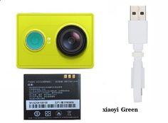 Original Xiaomi yi Action Camera Xiao yi WiFi Xiaoyi mi Sport Camera 1080P 16MP 60FPS WIFI Ambarella Bluetooth Waterproof DV Cam