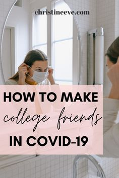 Is your college online? Wondering how to make friends in college during COVID? Don't worry, here are the BEST tips to make college friends during the pandemic. Although you may be doing college remotely, you can still make amazing friends. Here are the best tips on how to make friends in college, but these tips certainly come in handy when trying to make friends in online college. #howtomakefriendsincollege #onlinecollegetips #onlinecollege Make Friends In College, First Year Of College, College Years, College Friendship Quotes, Friend Advice, College Survival, Amazing Friends, Living On A Budget, Online College