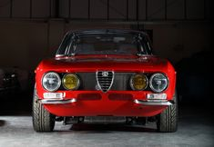 Just something about the way an Alfa looks.  I'm going to have to buy one eventually.