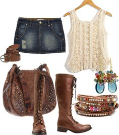 """""""outfit # leather"""" by belinda-e-falgout ❤ liked on Polyvore"""