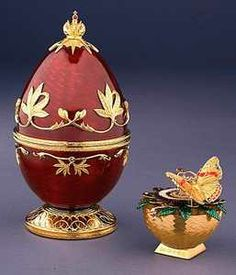 Theo FABERGÉ, The Red Admiral Egg
