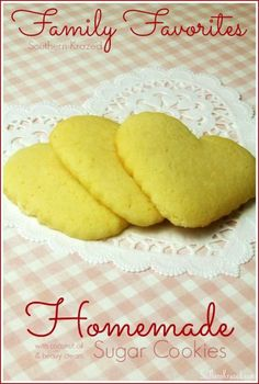 Homemade Sugar Cookies Recipe - Southern Krazed