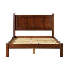 Grain Wood Furniture Shaker Platform Bed & Reviews   Wayfair