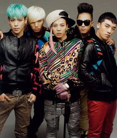 I really like BigBang. I love their songs Tell Me Goodbye, Monster, and Feeling.