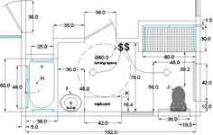 Ada Bathroom Toilet Clearance tas ada illustrations | 685 florida street | pinterest | ada